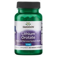 Orotato de litio, 5 mg
