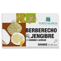 Berberechos al Jengibre con Kombu de Azúcar Eco