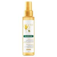 Protective hair oil with ylang-ylang wax