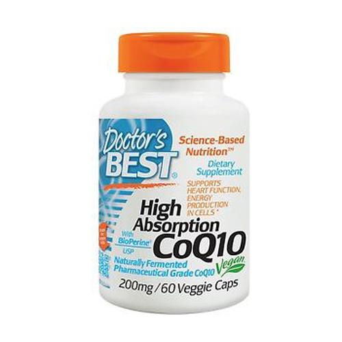 CoQ10 de alta absorción con BioPerine 200 mg