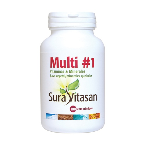 Multi #1 Vitaminas & Minerales