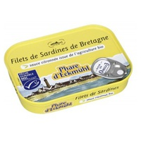 Filets de sardines sauce citronnée