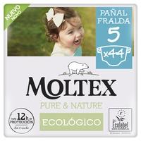 Fraldas Moltex Pure & Nature T5 (13-18 kg)
