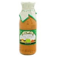 Crema Ecológica de Lentejas con Alga Kombu y Espagueti de Mar