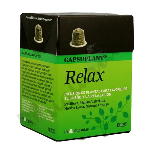 Capsuplant Relax (Compatible Nespresso) 10 cápsulas de Deiters