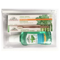 Cosmo Organic Oral Elixir + Purifying Toothpaste + Bamboo Toothbrush