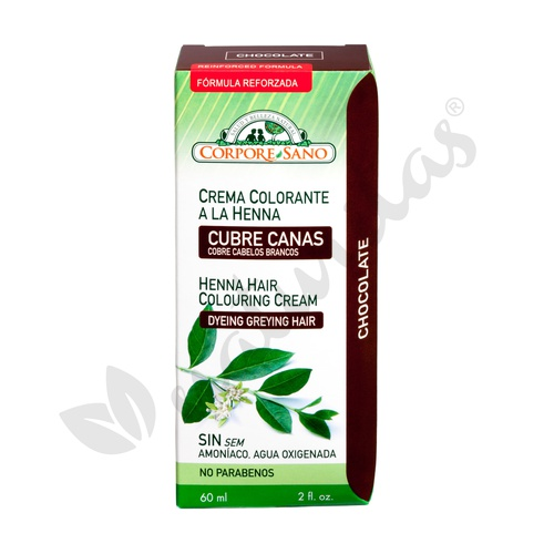 Crema Colorante Henna Chocolate