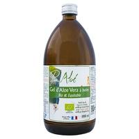 Organic aloe vera gel pasteurized to drink
