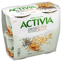 Activia Zero Chia y Avena