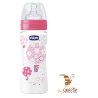 Baby bottle baby bottle 330ml 4m + fast flow silicone