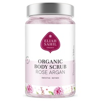 Rose And Argan Body Scrub Detoxifies And Softens