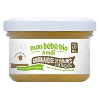 Organic baby puree Gourmandise of Apple and Chestnut