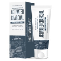 Active Charcoal and Wondermint Toothpaste