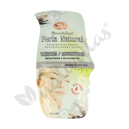 Mascarilla rejuvenecedora facial Perla Natural