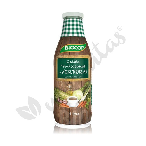 Caldo de Verduras Tradicional Bio 1 litro de Biocop