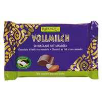 Chocolate Snack with Milk and Almonds