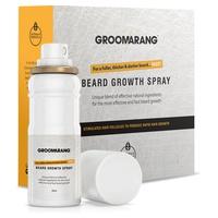 Spray naturel accélérateur de poursse pour la barbe