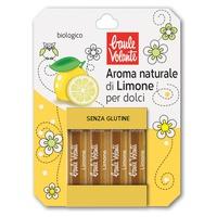 Aroma natural de limón para postres