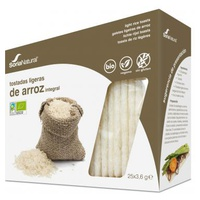 Torradas Leves de Arroz Integral