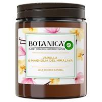 Himalajska świeca zapachowa z naturalnego wosku i magnolii