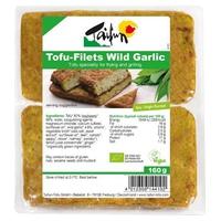 Tofu al ajo en filetes