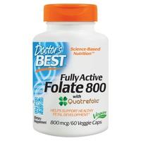 Folato 800 completamente activo con quatrefolic, 800 mcg