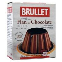 Flan de Chocolate Sin Gluten