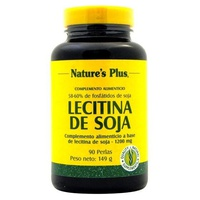 Lecitina de Soja 90 perlas de 1200 mg de Nature's Plus