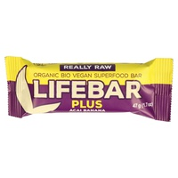 Lifebar Plus (Sabor Banana y Açaí)