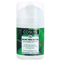 Crema facial hidratante triple acción