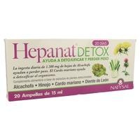 Hepanat Detox 20 ampollas de Natysal